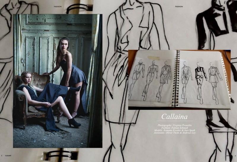 fashion editorial callaina